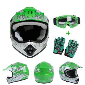 Youth Kids Motorcycle Helmets Motocross Dirt Bike Atv Off Road Child Helmet Dot Ebay