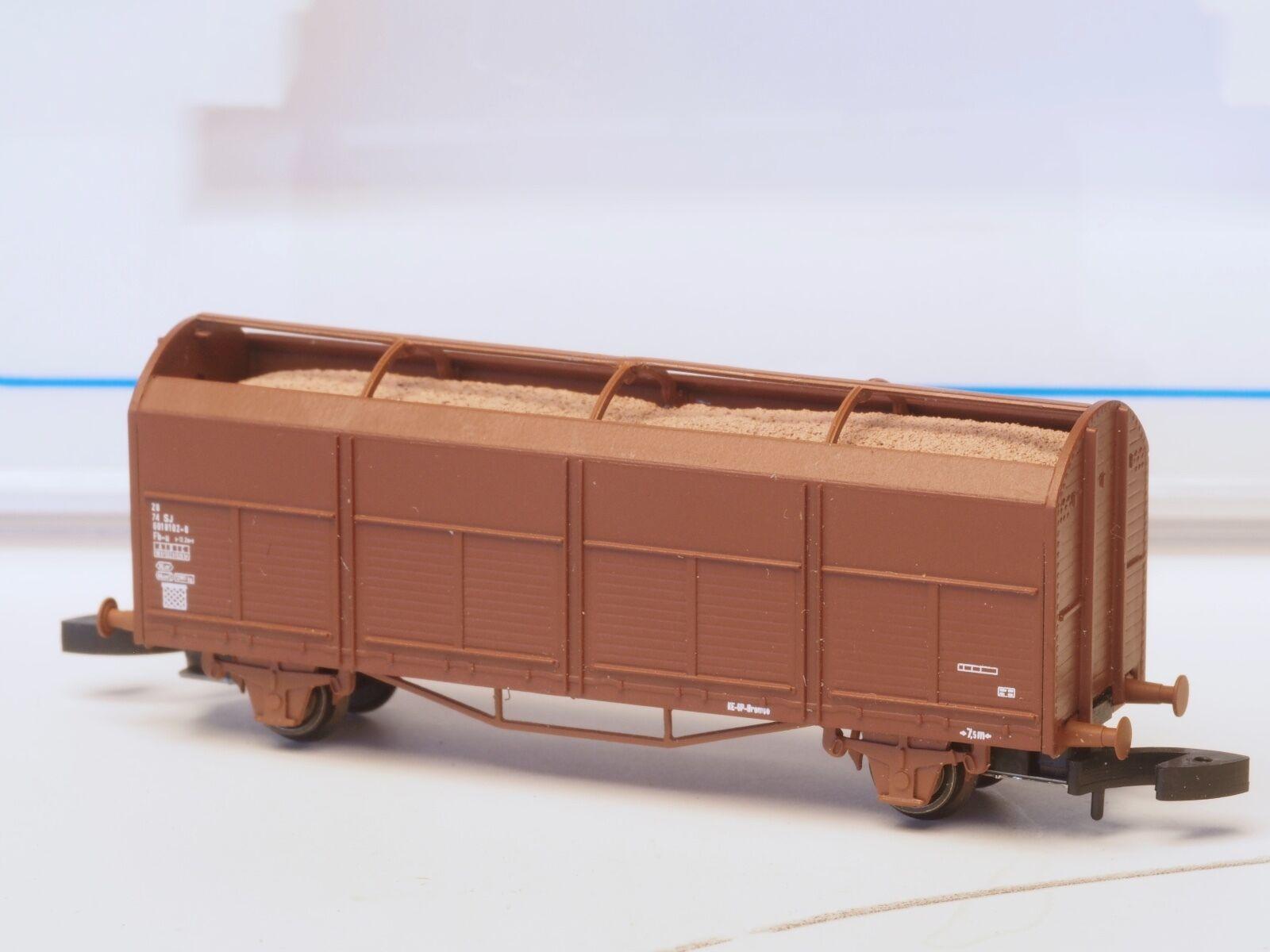 Fr Z-Scale Sj Träflisvagn Rauhfaser Auto Schwedisch Eisenbahnlinie Klasse Fb-U  | Reichhaltiges Design