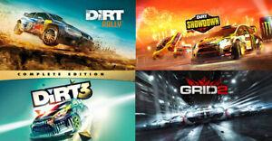 Dirt 3 Complete + Grid 2 + Dirt Rally + Dirt Showdown | Steam Key | Worldwide |
