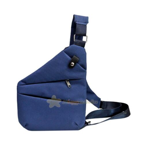 Anti-Theft Multifunctional Storage Shoulder Bag Men Waist Crossbody Chest Bags