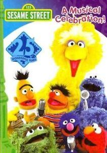 Sesame-Street-25th-Birthday-A-Musical-Celebration-Region-1-Great-For-Kids