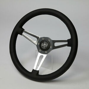 sports steering wheel leather steering wheel 380mm alfa romeo giulia gt 1300 junior spider. Black Bedroom Furniture Sets. Home Design Ideas