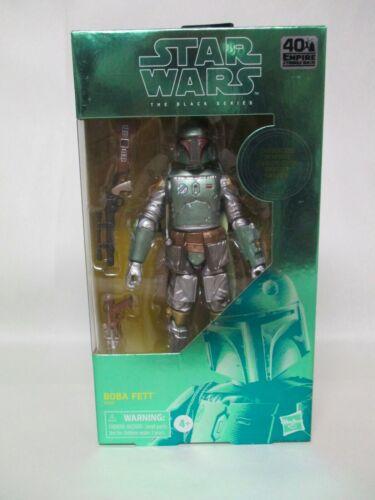 "Star Wars 40th Anniversary 6/"" Empire Strikes Back Boba Fett carbonisé NEW Comme neuf en boîte scellée"