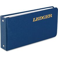 Wilson Jones Ring Binder Ledger A-z Tab Index 100-pg 5-1/2x8-1/2 Be Cvr on sale
