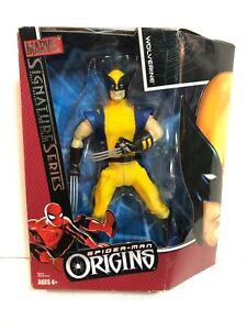 "Spider-Man Origins Signature Series 8"" Wolverine Figure Marvel Hasbro 2006"