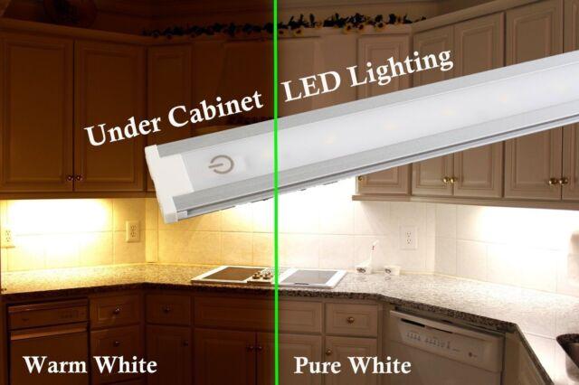 24 Kitchen Counter Under Cabinet Led Light 2ft 5000k 3000k Switch Ul
