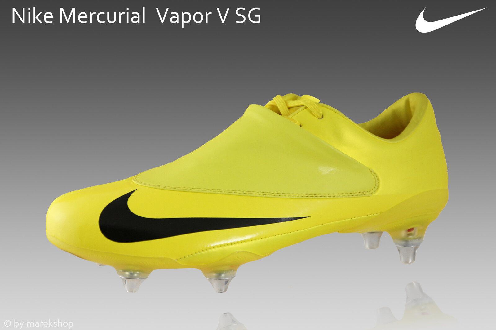 Nike Mercurial Vapor V SG 100% auténtico totalmente nuevo + caja + bolsa