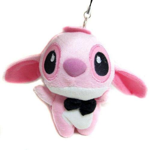 10cm Mini Small Stitch Plush Doll Animal Cute Lilo Stuffed Stich Toy KeyChain