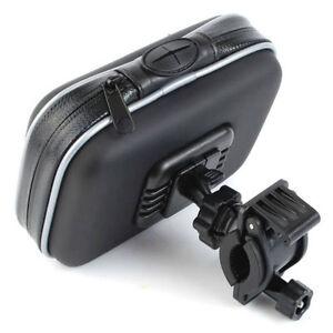 Waterproof-Bike-Bicycle-Motorcycle-Case-amp-Mount-Handlebar-for-5-034-GPS-Universal