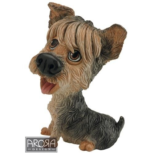 Little Paws Duchess the Yorkie Yorkshire Terrier Dog Figurine NEW 21252