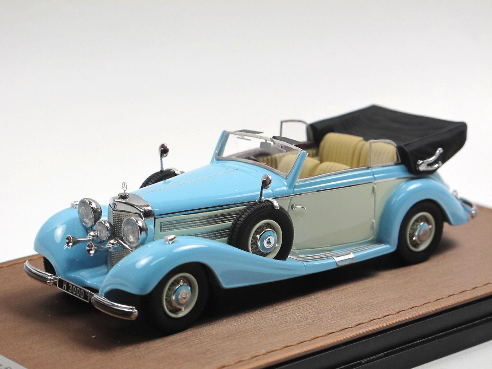 GLM 1937 Mercedes-Benz 540k decappottabile B (w29) copertura aperta 1/43