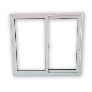 Fenster kunststofffenster schiebefenster schiebet r 2 fach 2 fl gelig ebay - Fenster 2 flugelig ...