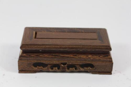 15 cm Blumen Bonsai Sockel Untersetzer Holz China