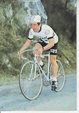 CYCLISME carte cycliste BERNARD BOURREAU équipe PEUGEOT- ESSO