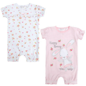 451c68bd7 Baby Girls Body Suit Short Summer Romper Outfit Playsuit Cute Bunny ...