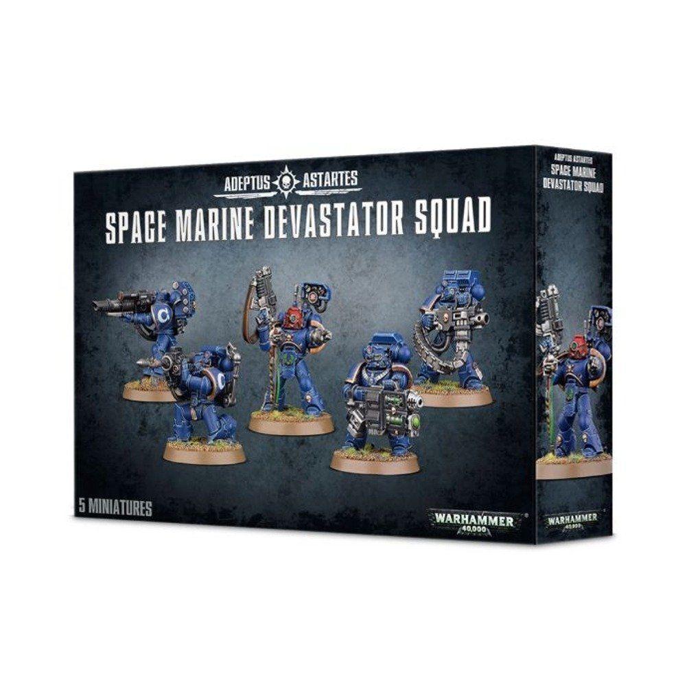 Warhammer 40k - space marine devastator squad - neu - 48-15