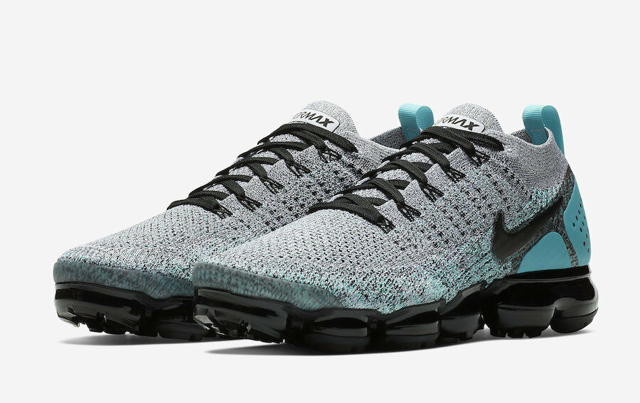 c1dddda65e Nike MEN'S Air Flyknit 2 White Black Dusty Cactus SIZE 11.5 BRAND NEW  Vapormax ntalgh2965-Athletic Shoes