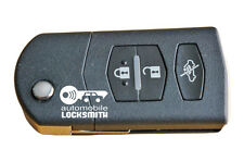 Mazda 2 3 5 6 RX8 MX5 3 button remote flip key Mitsubishi SKE 126-01 126-A1