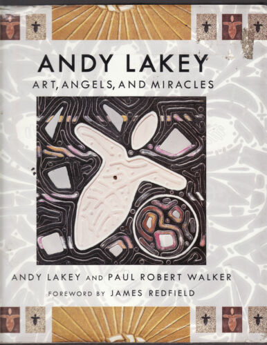 1 of 1 - ANDY LAKEY : ART ANGELS & MIRACLES  with PAUL ROBERT WALKER   ax