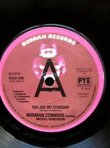 Norman-Connors-You-Are-My-Starship-b-w-Bubbles-7-034-Vinyl-Promo-Buddah-BDS-449
