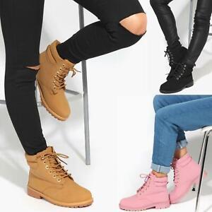 botas invierno mujer cordones