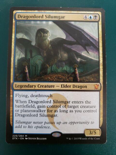 DTK MtG english Dragonlord Silumgar FOIL x 1 LP condition