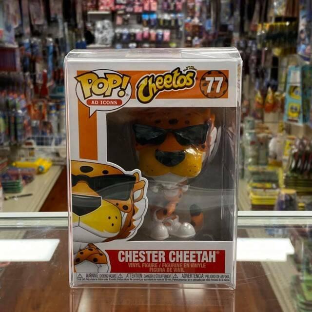 Funko Pop! Anuncio Iconos Cheetos: Chester Guepardo Figura Vinilo con Funda
