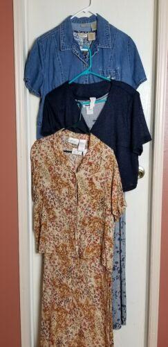 3 Great Vintage Late 1990's Dresses Bobbie Brooks