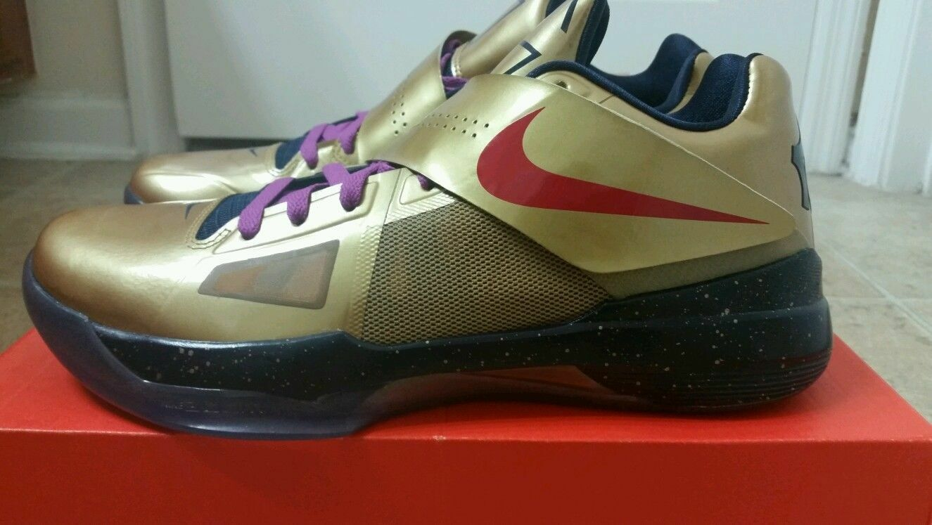 ds nike zoom kd 4 iv médaille d'or taille * 10 * taille nouvelle / vite shipping * 2012 kevin xi ca7e6e