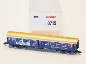 8719-Marklin-Z-scale-DB-Theater-Car-Dortmund-034-Theater-in-train-034-Special-Ed