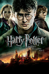 Harry potter and the deathly hallows book poster
