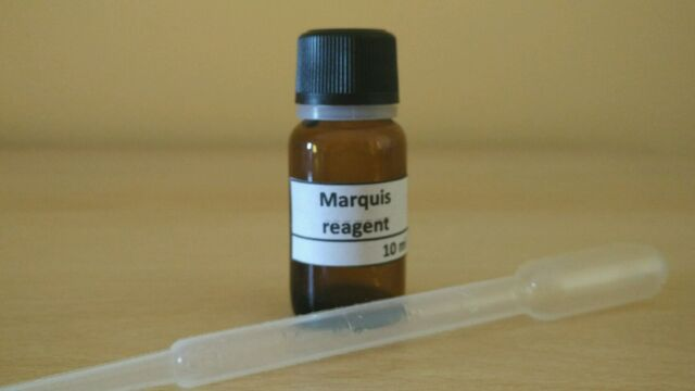 MARQUIS REAGENT + PIPETTE - 10 mL - DRUG TEST