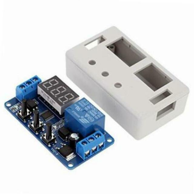 Spare Parts DC 12V High//Low Level Trigger Time Delay Relay Switch Module A016