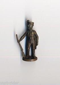 KINDER FERRERO soldatini metallfiguren PREUSSEN JAGER messing 40mm