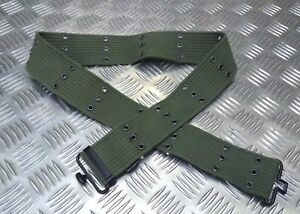 Military-Alice-Style-2-034-Canvas-Web-Pistol-Belt-Load-Adjustable-size-All-Colours