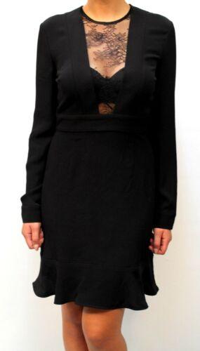 50 Aa Donna Nero Dress 15 Платье 210 00 Goldrake Abito Dp Pinko € wv04WH
