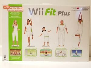 NEW Nintendo Wii Fit Plus With Balance Board and Game - Brand New in Box Sealed