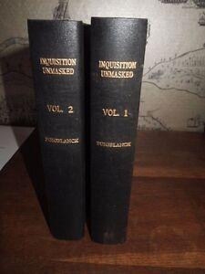 1816-THE-INQUISITION-UNMASKED-BY-ANTONION-PUIGBLANCHI-TRANS-WALTON-2-VOLS