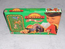 Vintage 1990s Disney's The Lion King ONCE UPON A TIME PLAY SET NIB  #66382 Simba