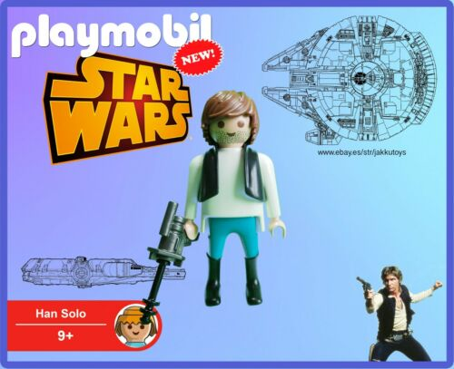 PLAYMOBIL Star Wars Han Solo 100/% Playmobil Pieces NUEVO NEW No Box Sin Caja