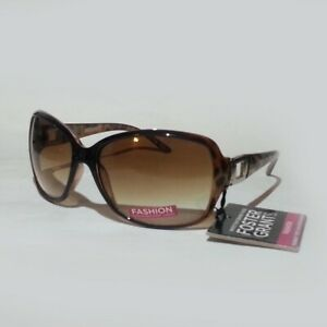 Foster-Grant-Women-Sunglasses-Tortoise-Brown-5mm-Brown-Lens-NWT