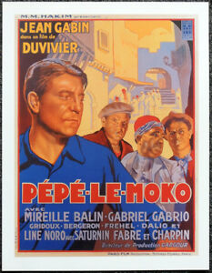 PEPE LE MOKO 1937 FRENCH FILM MOVIE POSTER PAGE  JEAN GABIN  351 - LIVERPOOL, United Kingdom - PEPE LE MOKO 1937 FRENCH FILM MOVIE POSTER PAGE  JEAN GABIN  351 - LIVERPOOL, United Kingdom