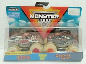 Zombie-amp-Captains-Curse-2019-Spin-Master-Monster-Jam-1-64-Scale-Diecast-Trucks