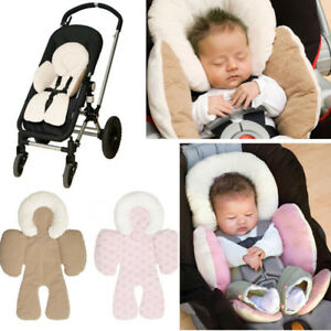 Baby Infant Car Seat Stroller Cushion Pad Liner Head Body Support Pillow Mat