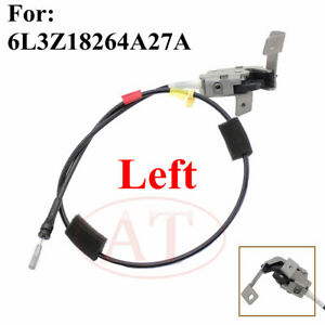 1997-2004 Ford F150 F150 Left Side Rear Upper Door Latch with Cable 6L3Z-18264A27-A Fits For 2004 Ford F-150 F150 Heritage 1997-1999 Ford F250 F250 LD Rear Left Driver Door Latch Lock with cable