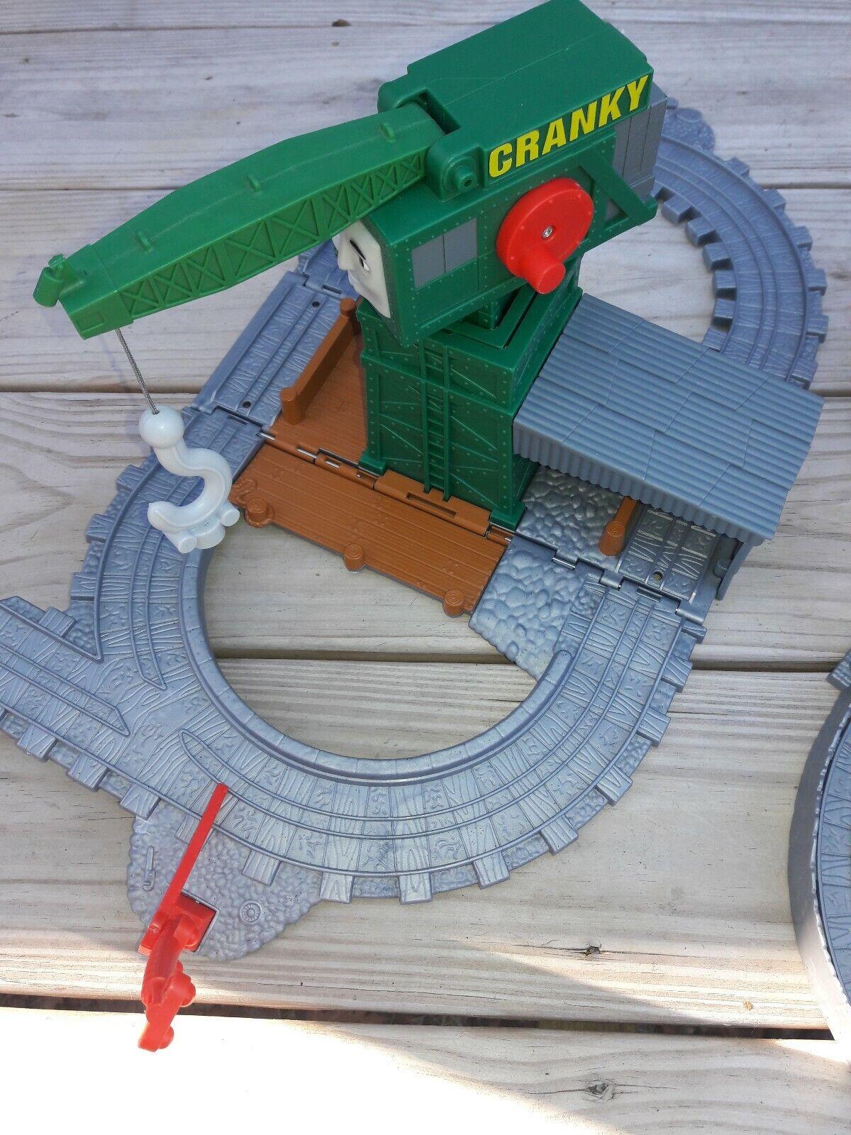 Un sacco di Thomas i giocattoli del treno 34 pcs, crains, Edifici, Tracce, Ponti