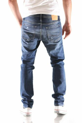 Jack /& Jones Glenn Original AM819 Slim Fit Herren Jeans