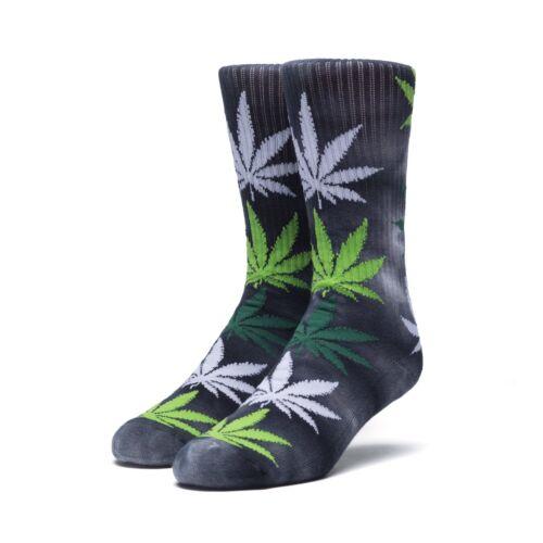 Ceppo HUF plantlife Tie Dye foglie Crew Socks BABBA KUSH