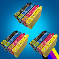 12 Ink Cartridge For Epson SX125 SX130 SX235W SX425W SX445W SX438W Printer 2