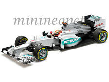 MINICHAMPS F1 MERCEDES AMG PETRONAS W03 EUROPEAN GP 2012 1/18 MICHAEL SCHUMACHER
